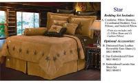 Star Luxury Western Bedding Comforter Set