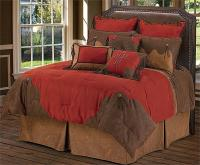 Red Rodeo Western Comforter