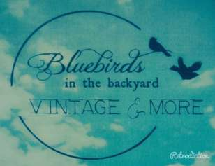 Logo Bluebirds in the Backyard