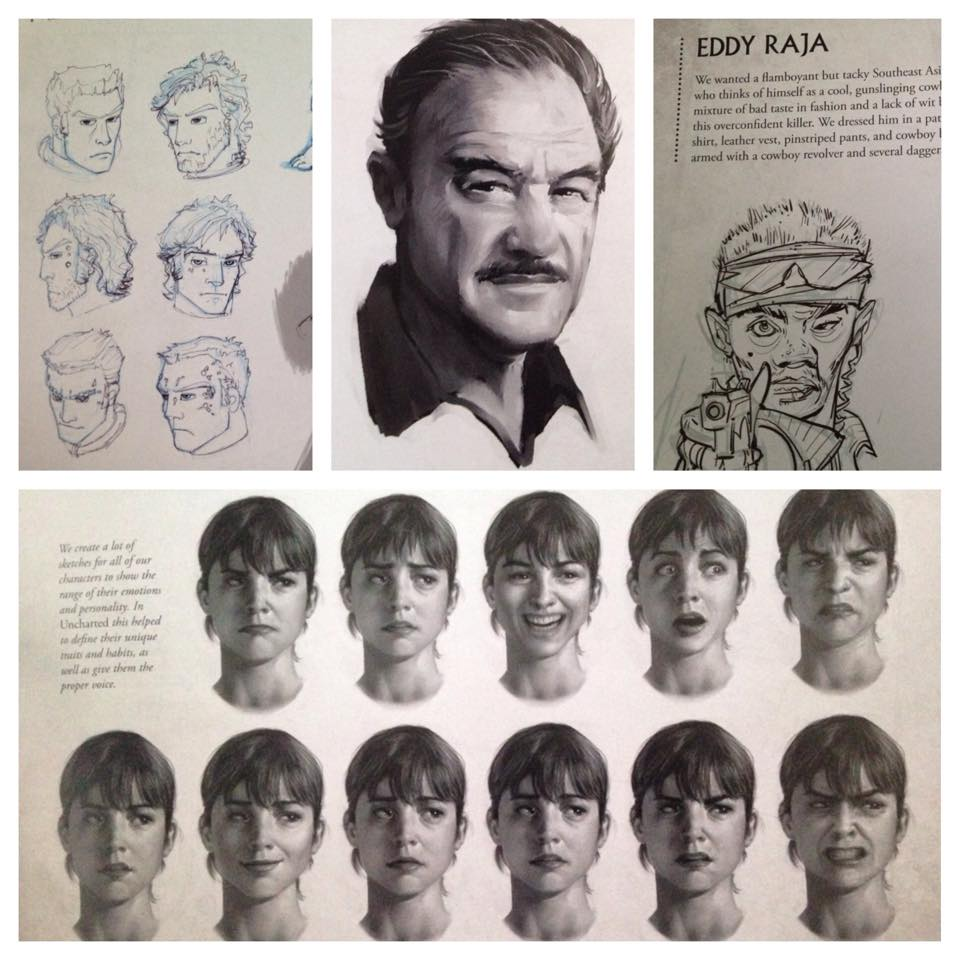 Early Character Designs