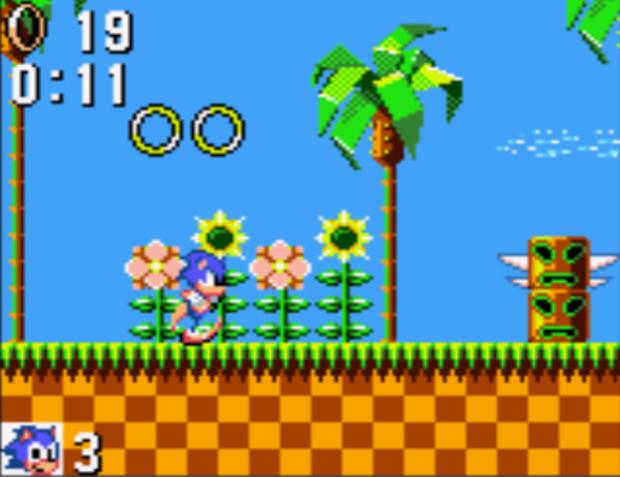 Sonic Gameplay Screenshot