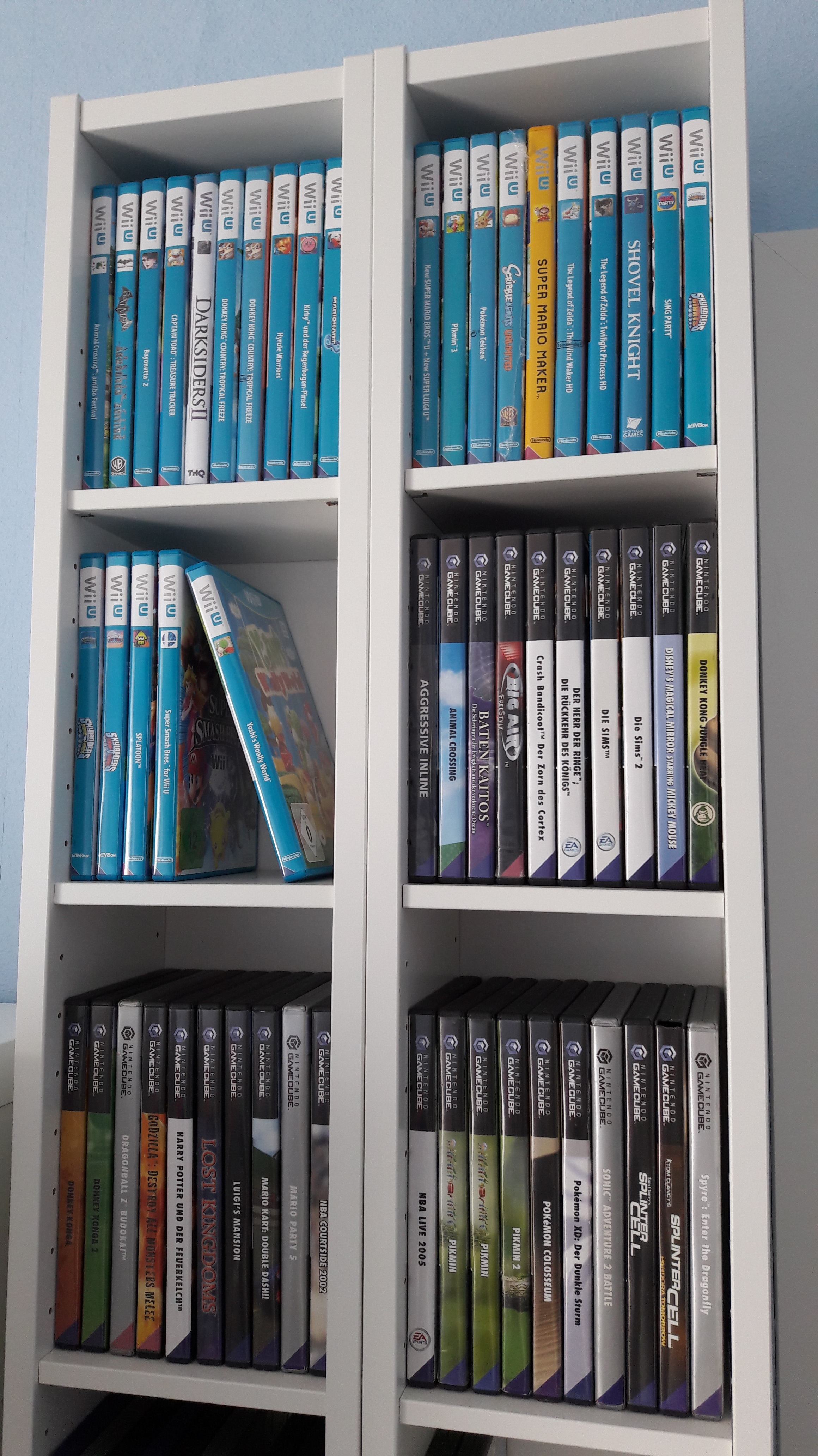 Gnedby Regal How To Store And Showcase Your Game Collection Retrogirlscave