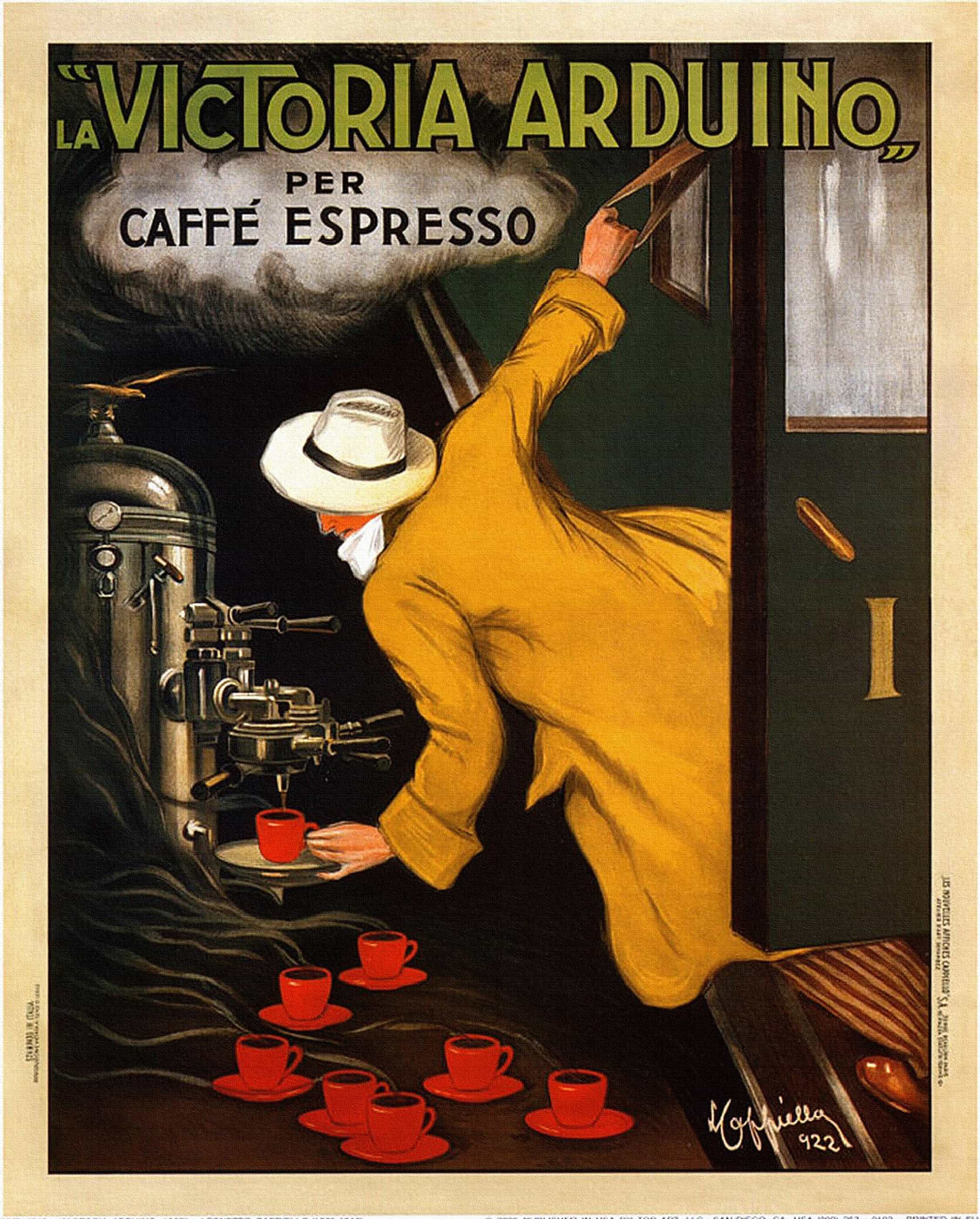 Coffee Art Victoria Art Deco Posters In The 1910s