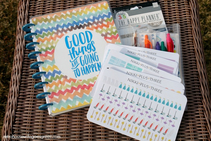 Create 365 Happy Planner Review and How I Use My Planner