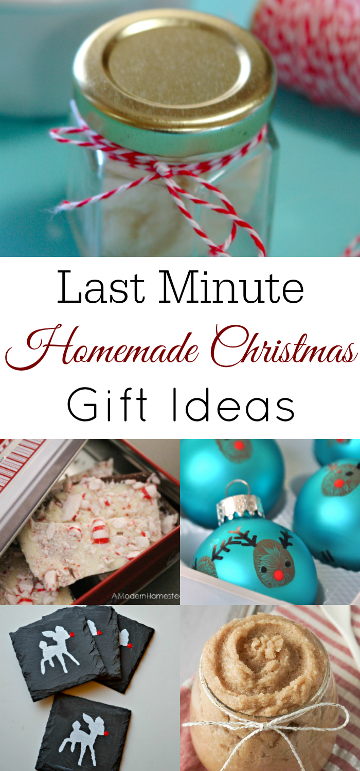 Christmas Homemade Gifts Last Minute Homemade Gift Ideas Retro Housewife Goes Green