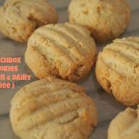 lunchbox cookies (gluten + dairy free)