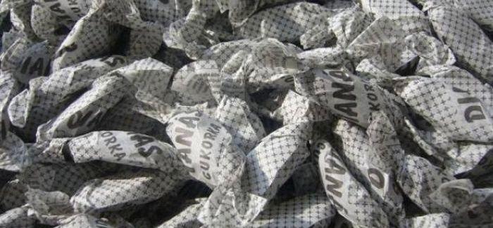 Retro csemege: Dianás cukorka