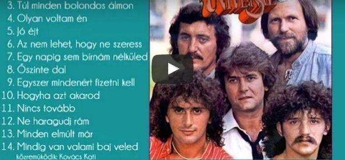 Nagy Válogatás: Universal együttes (1976 – 1986)