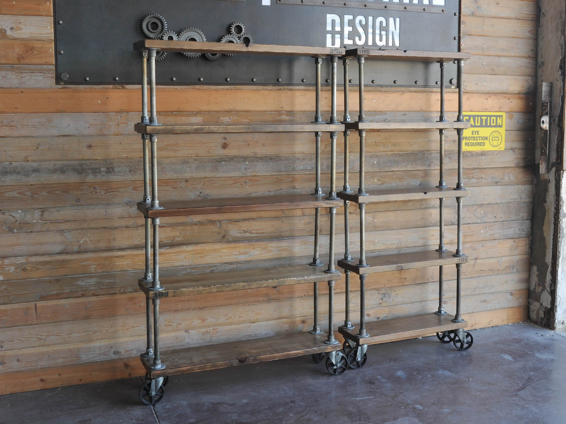308 Shelf Vintage Industrial Furniture