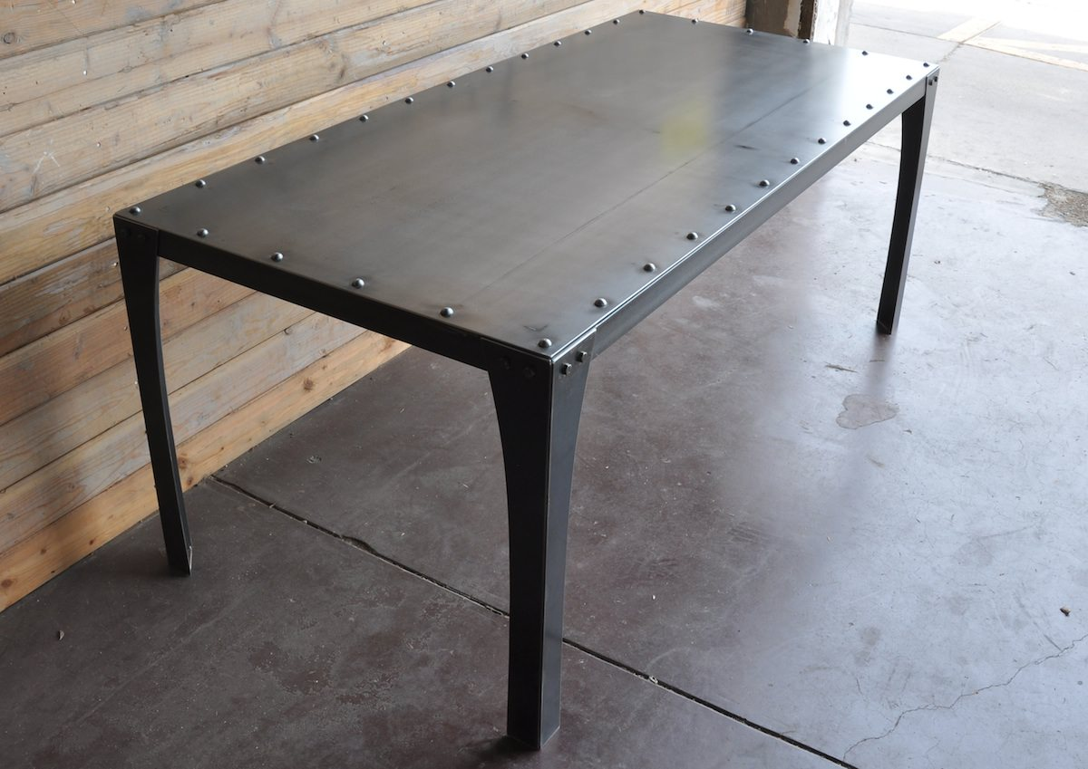 Metal Table Simple Metal Table Vintage Industrial Furniture