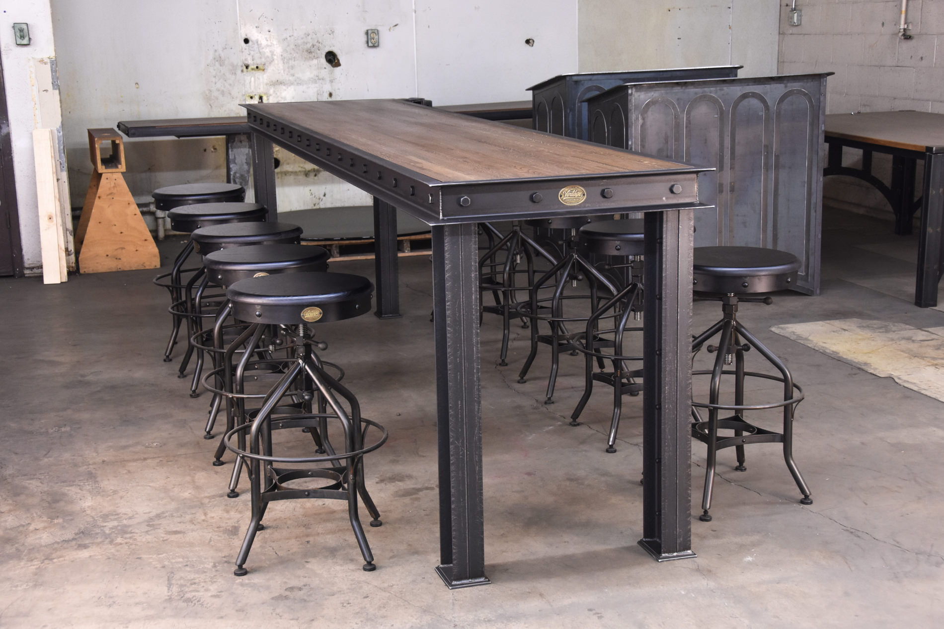 Table Bar Industriel Firehouse Bar Table Vintage Industrial Furniture