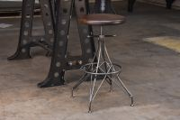 Rebar Stool - Vintage Industrial Furniture