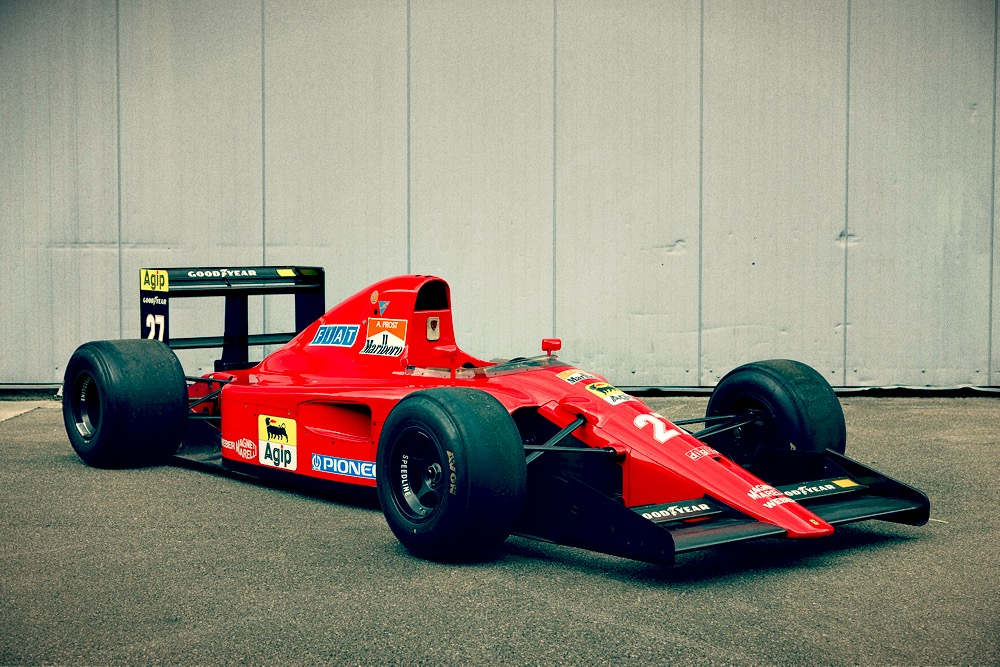 Retro Car Home Wallpaper F1 Car For Sale 1991 Ferrari F1 91 Type 642 Retro