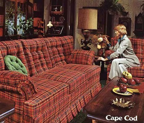 10 Kroehler Sofas And Loveseats From 1976 Retro Renovation - Sofa Plaid