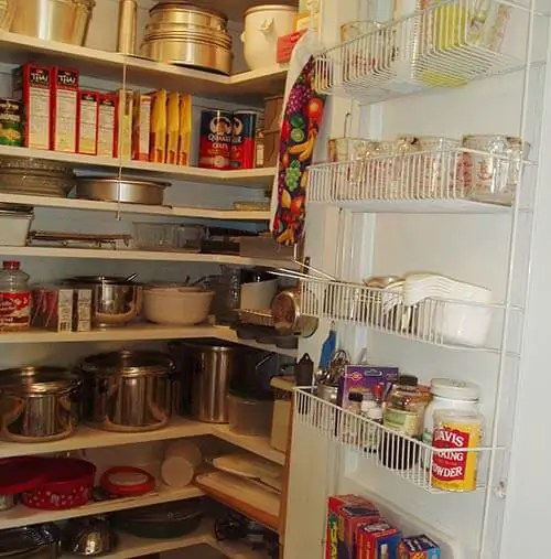 Washer And Dryer Topper David Creates A Sunny Red And White Vintage Kitchen For