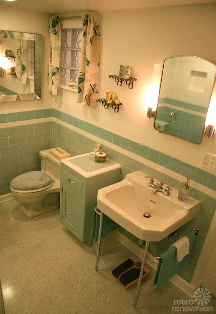 Vintage Blue Bathroom Colors From Seven Manufacturers From 1927 To 1962
