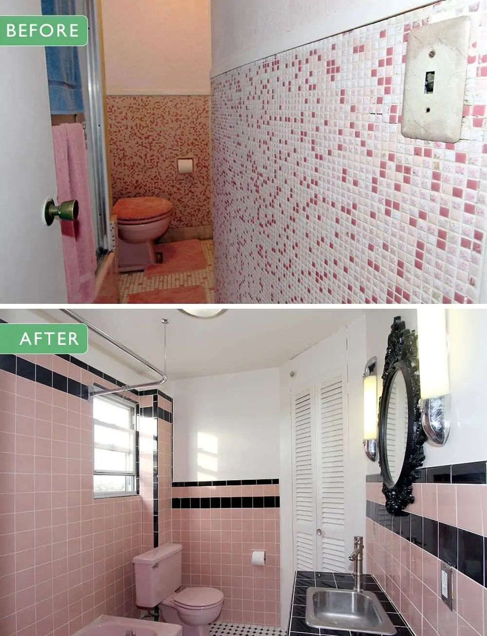 Where to find vintage bathroom tile remember to check
