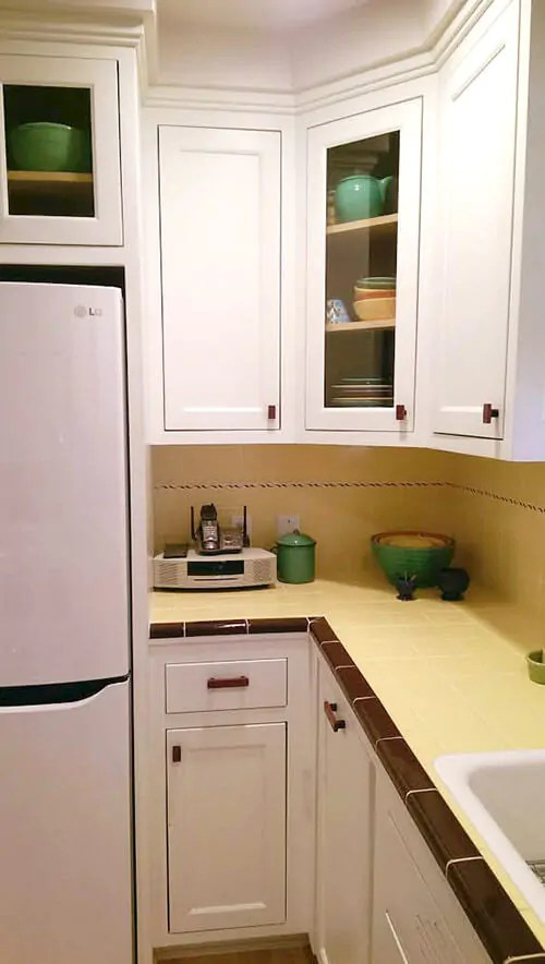 Purple Heart Kitchen Cabinets Carolyn's Gorgeous 1940s Kitchen Remodel Featuring Yellow