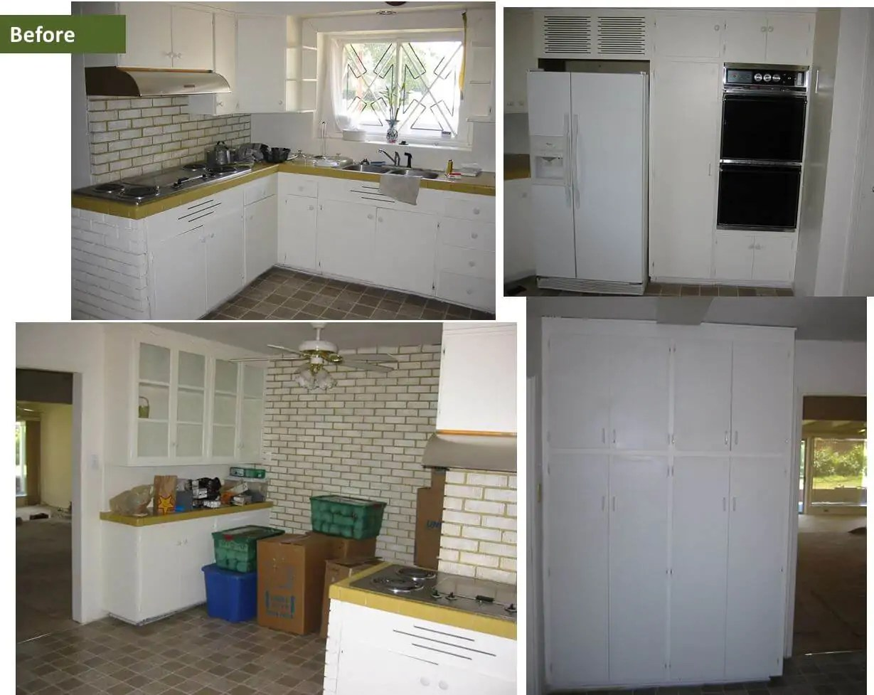 1950s Kitchen Design Birch Cabinets Transform Heidi Scott S 1950s Kitchen Retro