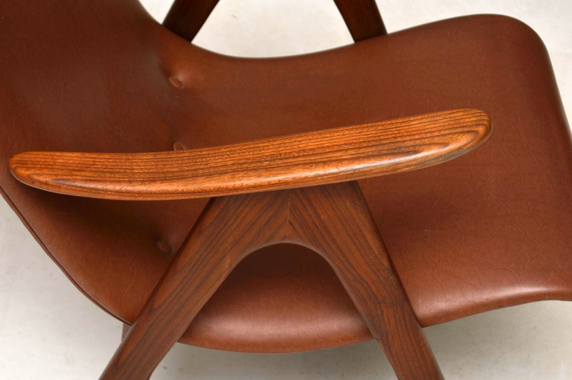Danish Furniture St Louis 1950s Dutch Vintage Armchair By Louis Van Teeffelen