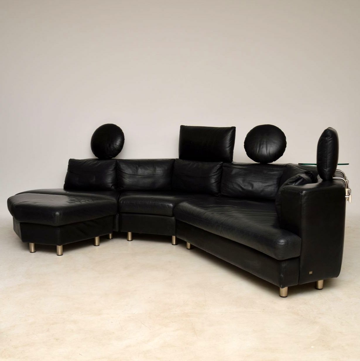 Bettsofa Rolf Benz 1970 S Vintage Leather Modular Sofa By Rolf Benz