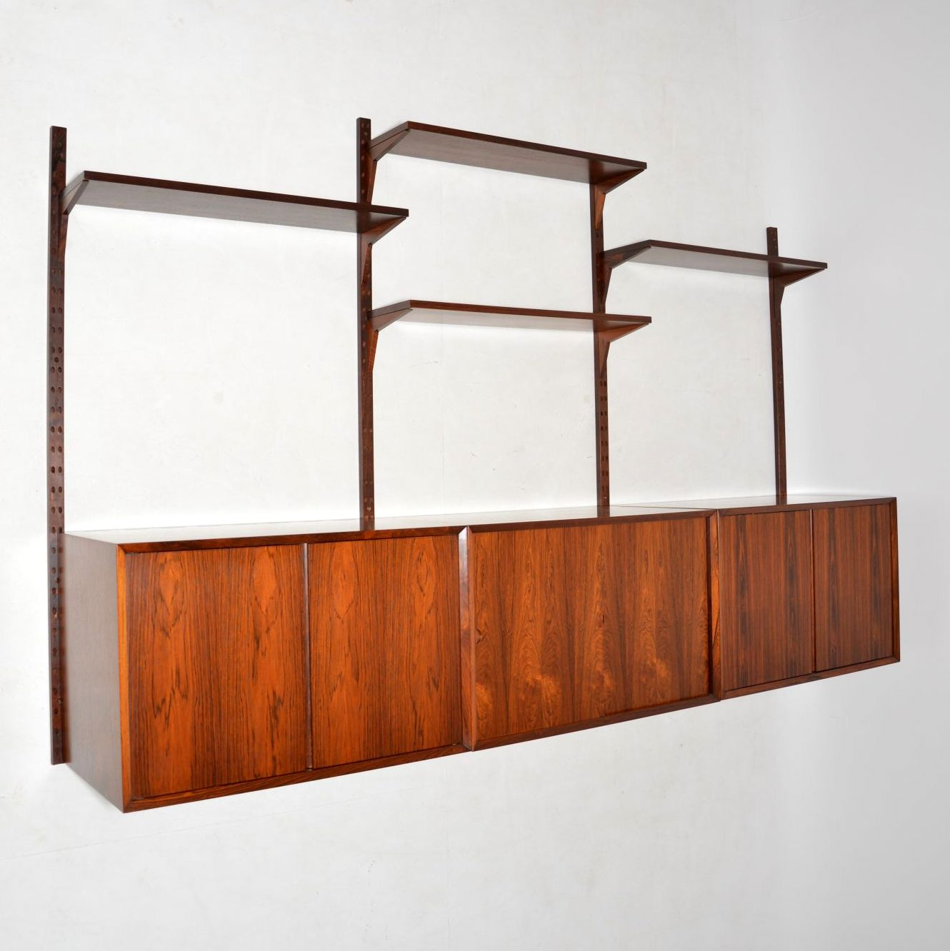 Vintage Rosewood Sideboard Details About Cado Royal Shelving Danish Vintage Rosewood Wall Unit Sideboard Bookcase