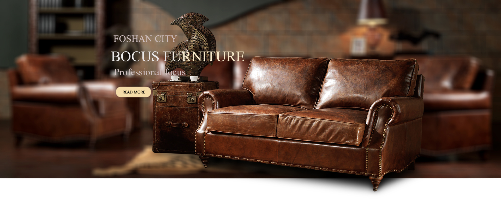 Retro Sofa Leather Retro Style Furniture Retro Style Furniture Factory Bocus