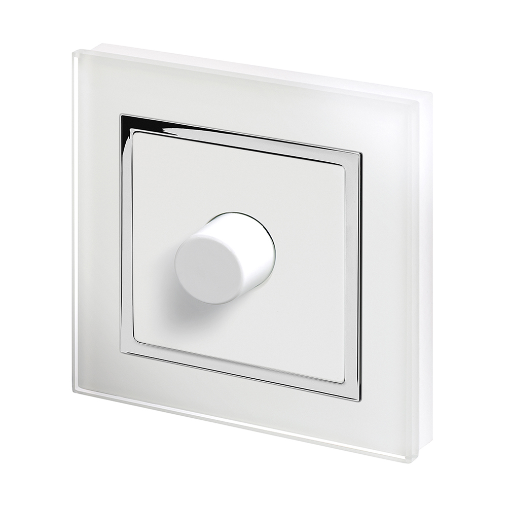 Dimmer Switch Crystal Ct 1g Rotary Led Dimmer Switch 2 Way White