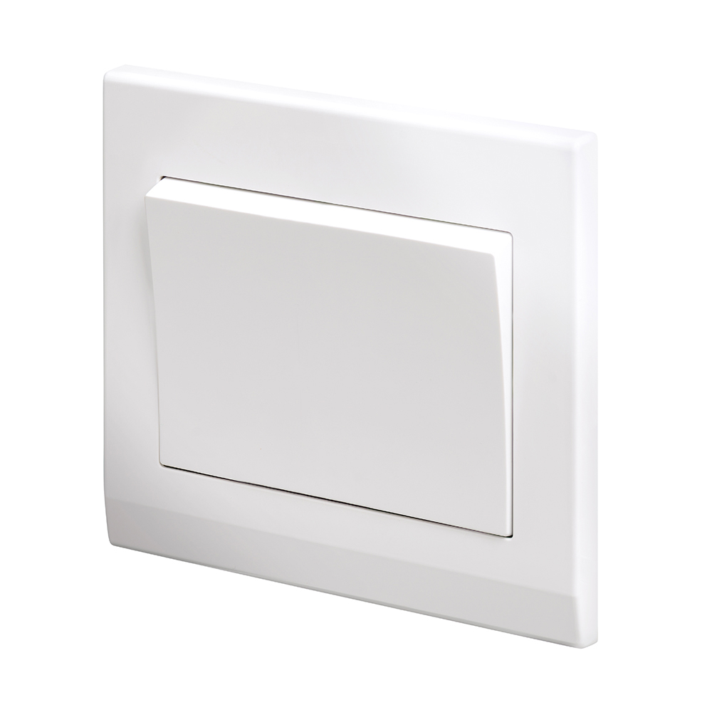 Switch Light Simplicity Mechanical Light Switch 1 Gang Intermediate White