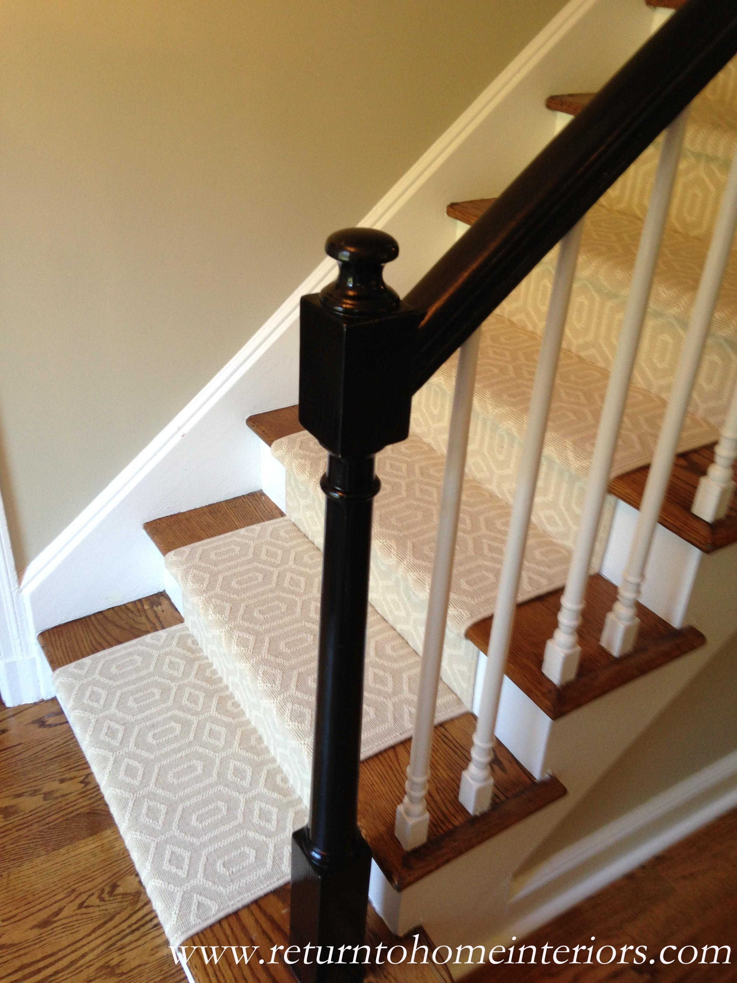 Stair Banister Choosing A Stair Runner: Some Inspiration And Lessons