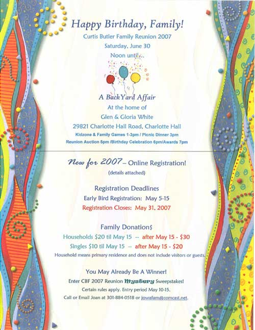 Reunion Invites! - Reunions magazine - invitation forms