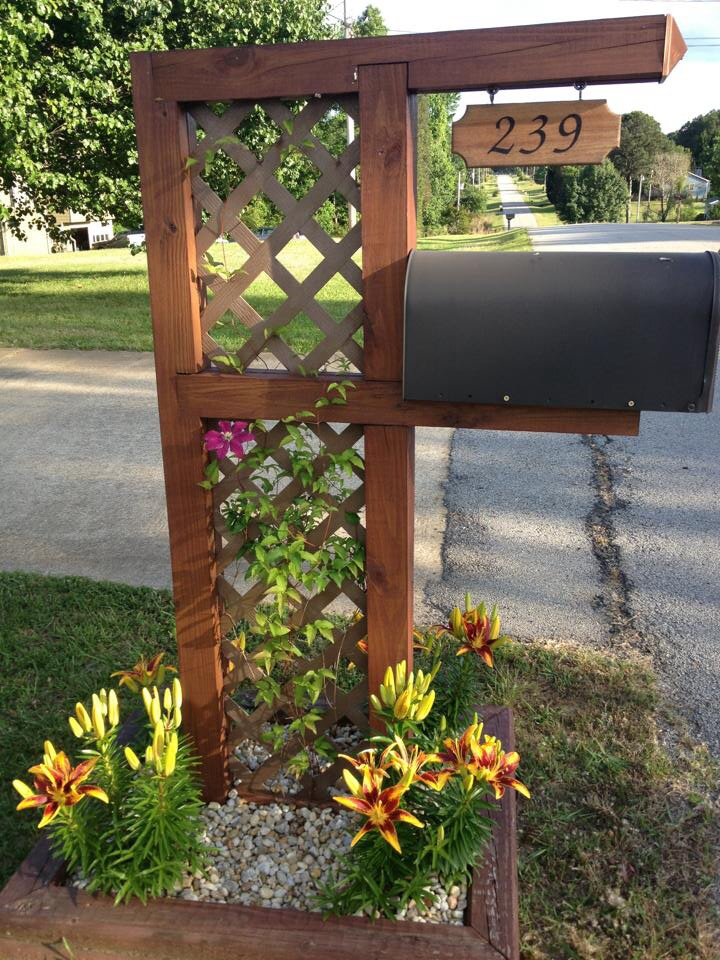 17 Diy Mailbox Ideas are sure to promote the appeal - Home Decor - appeal letter