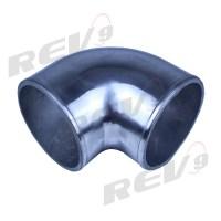 """Rev9Power: Aluminum Elbow Pipe, 90 Degree, 3"""" Diameter ..."""