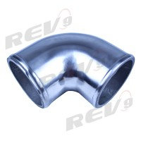 """Rev9Power: Aluminum Elbow Pipe, 90 Degree, 2.25"""" Diameter ..."""