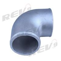 """Rev9Power: Aluminum Elbow Pipe, 90 Degree, 2.5"""" Diameter ..."""