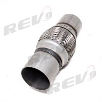 Rev9Power: Stainless Steel Flex Pipe Exhaust Couplings ...