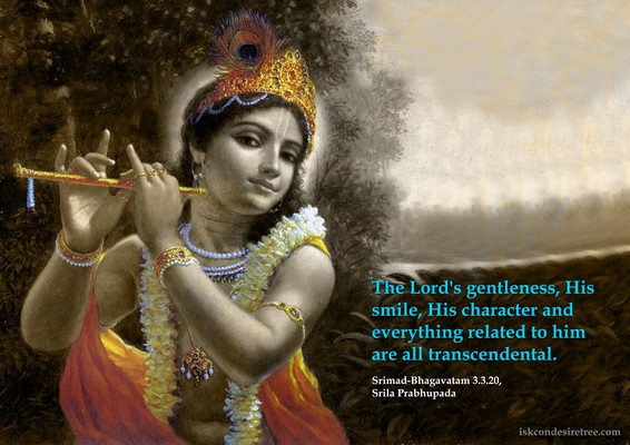 Krishna quote from ISKCON Desire Tree