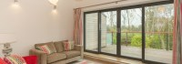 Composite Timber Four Pane Sliding Doors
