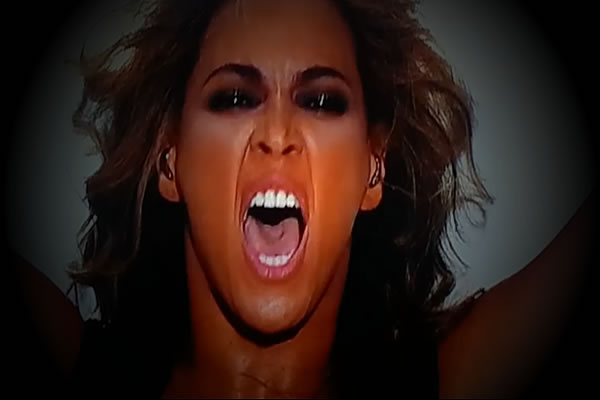 Watch Beyonce Demon Possessed at Super Bowl?