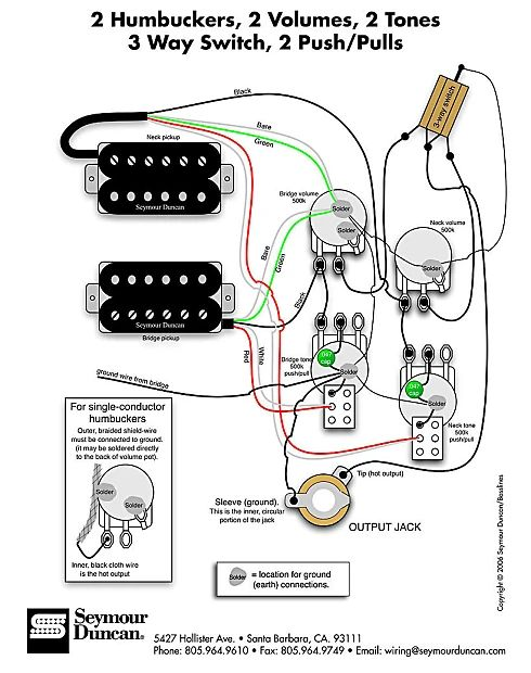 cts push pull pot 500k wiring diagram