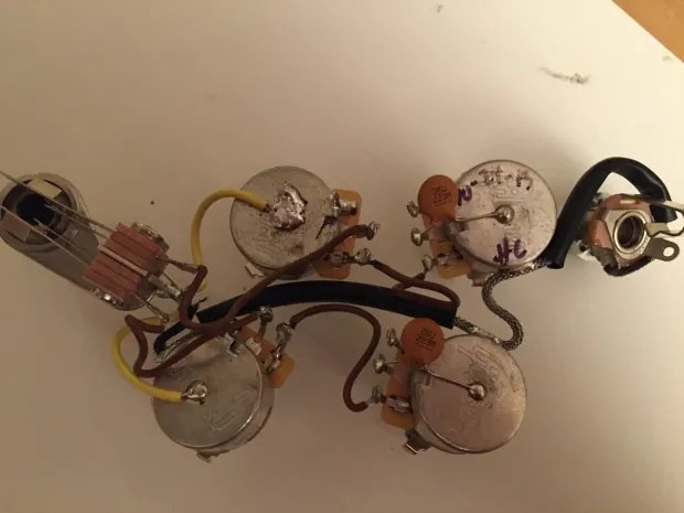 gibson sg wiring harness pre wired sg wiring harness the gear page