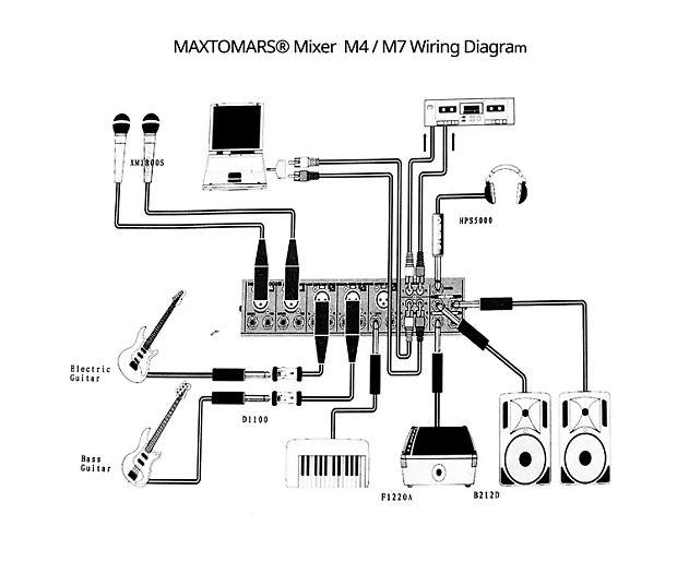 6 input mixer