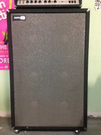 Vintage SUNN 1200S - Straight Baffle - Rear Loaded 6x12 ...