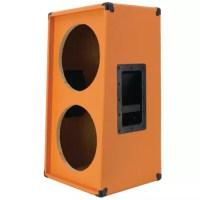 2x12 Vertical Guitar speaker empty cabinet orange tolex ...