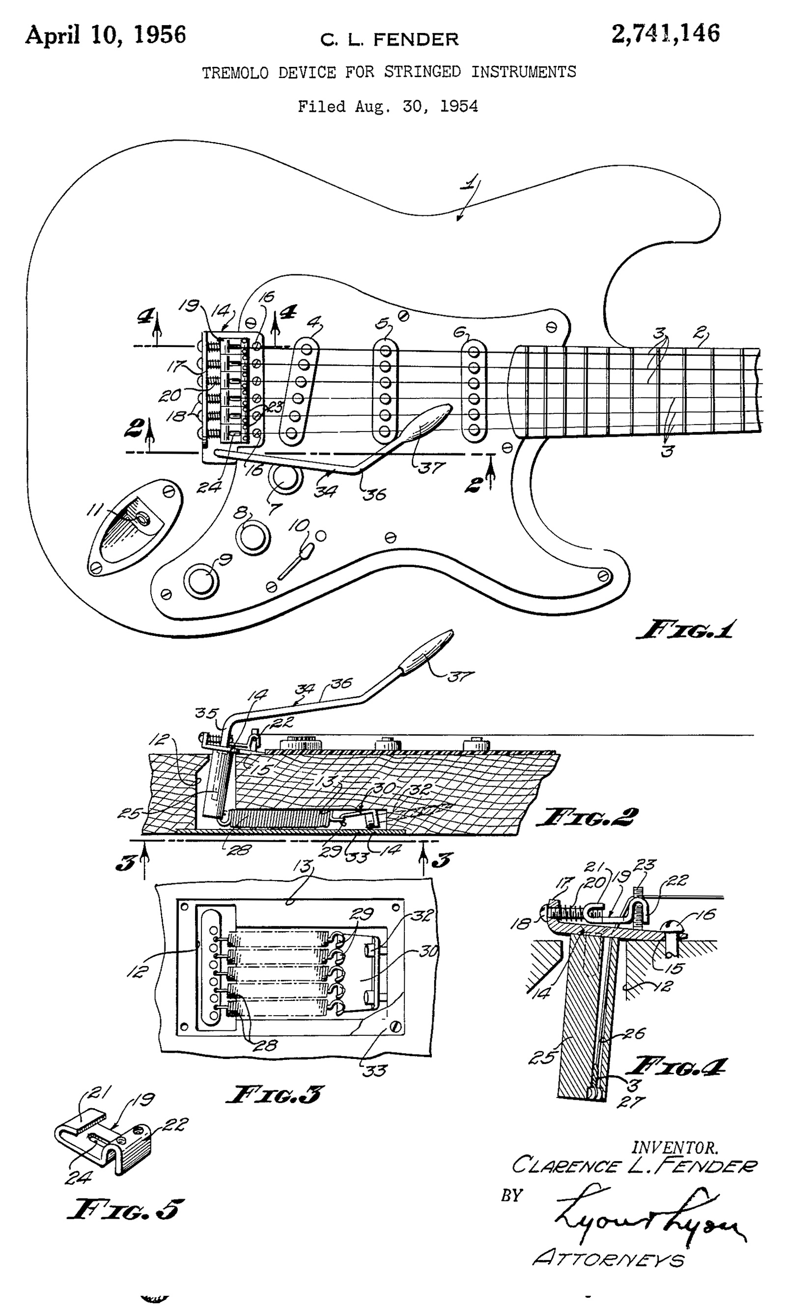 guitar tremolo unit