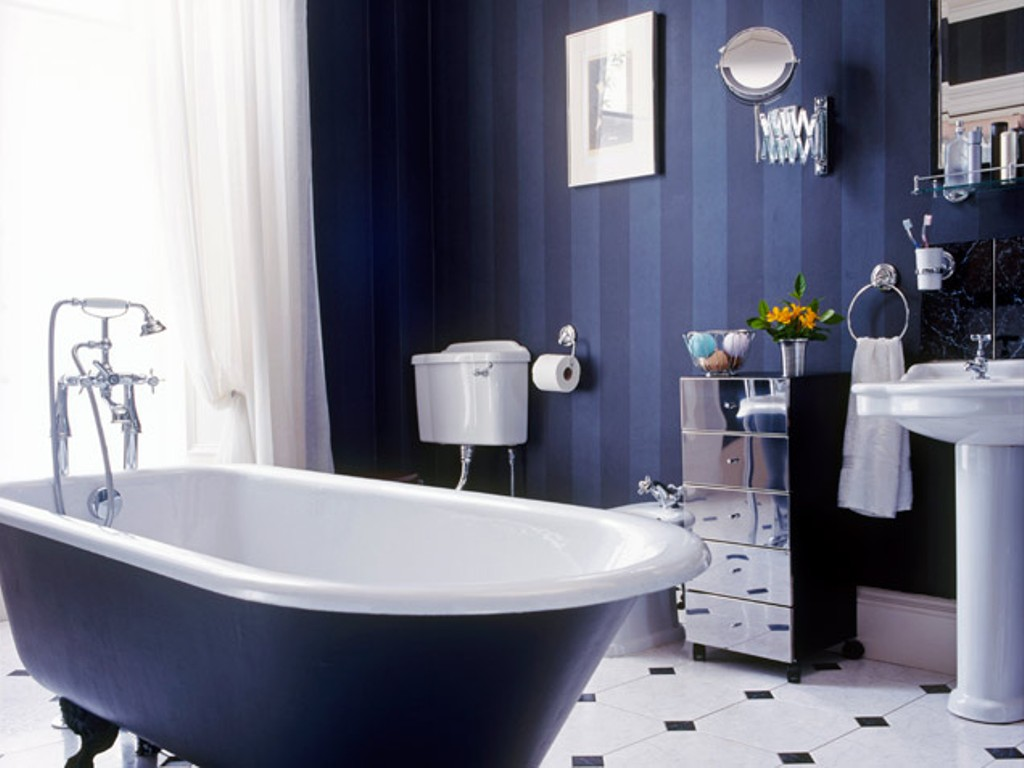 15 Awe Inspiring Blue Bathroom Ideas You Should Steal Reverb