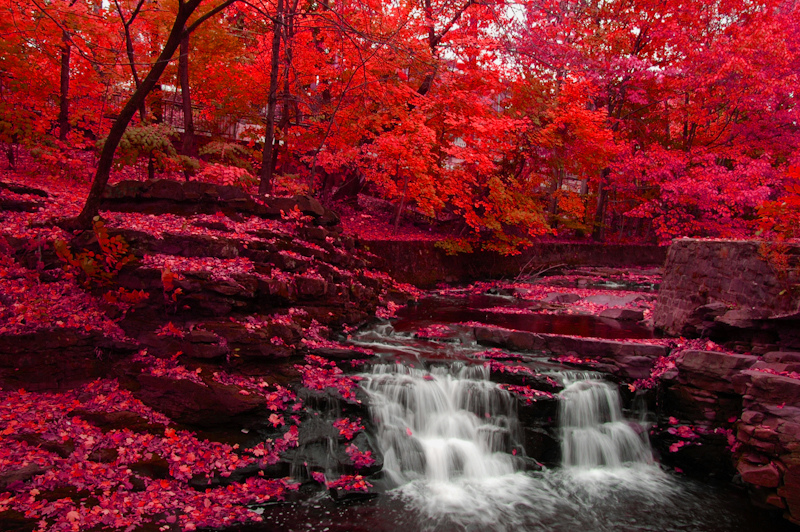 Beautiful Fall Landscape Wallpaper Indian Summer North American Weather Phenomenon