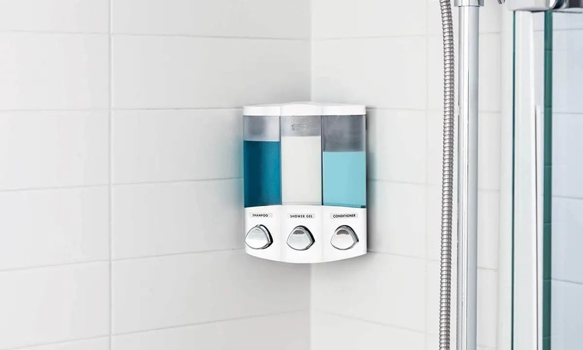 Bathroom Shower Dispensers Five 20 And Under Bathroom Upgrades You Should Buy Right Now