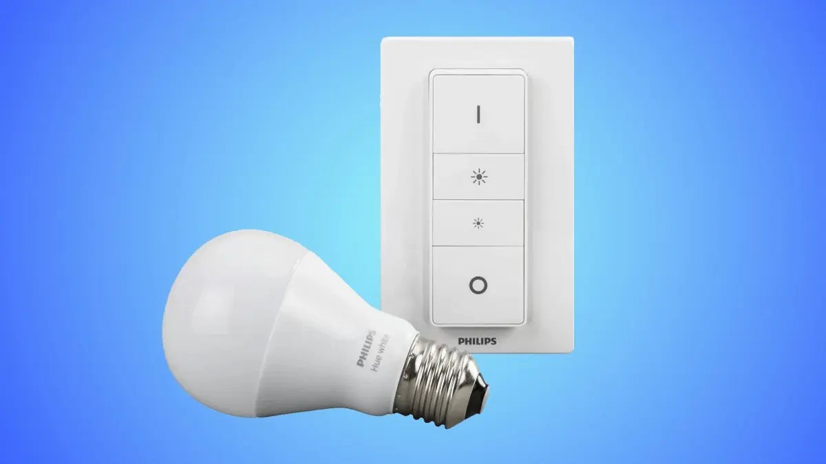 Philips Dimmer Philips Hue Dimmer Kit Review A Great Smart Lighting Entry Point