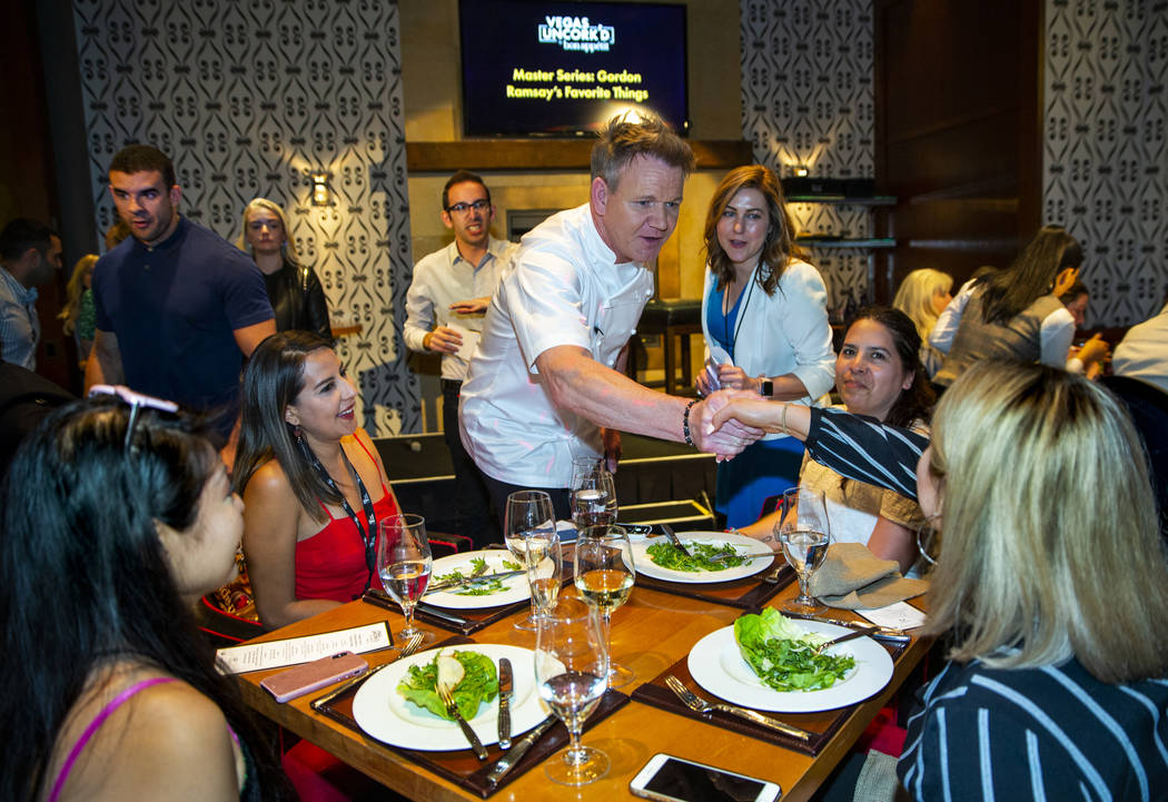 La Cocina De Gordon Ramsay Gordon Ramsay Steak In Las Vegas Closing For Renovations